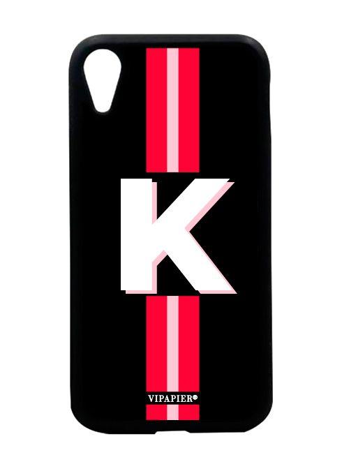 Case iPhone XR Stripe Red