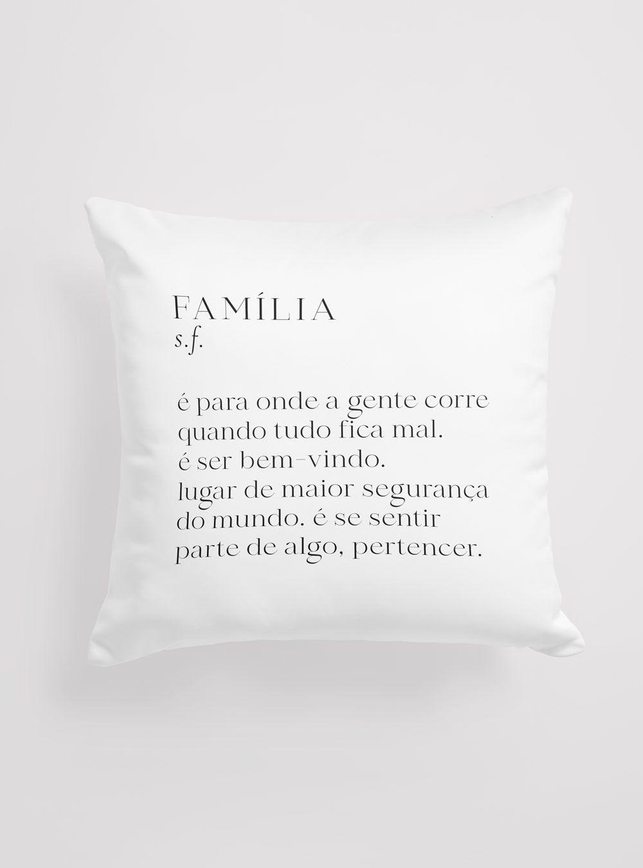 Capa de Almofada Significado Família