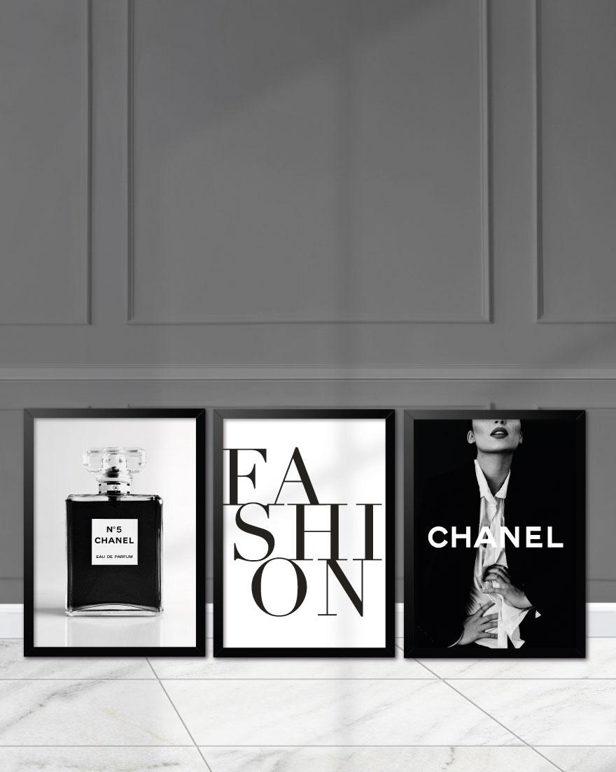 Kit de Quadros - Parfum Fashion