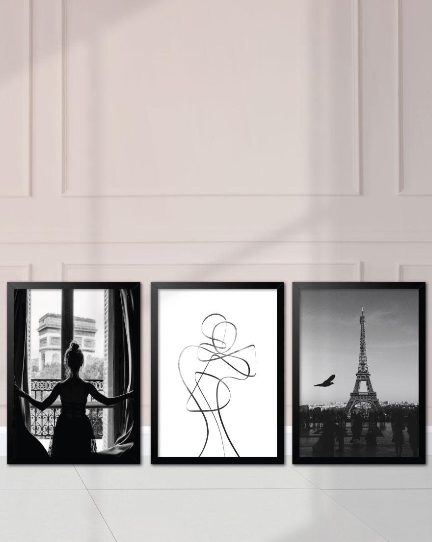 Kit de Quadros - Parisian Woman