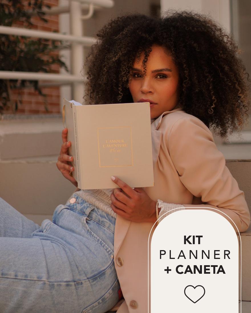 Kit Planner 2022 + Caneta | Brie