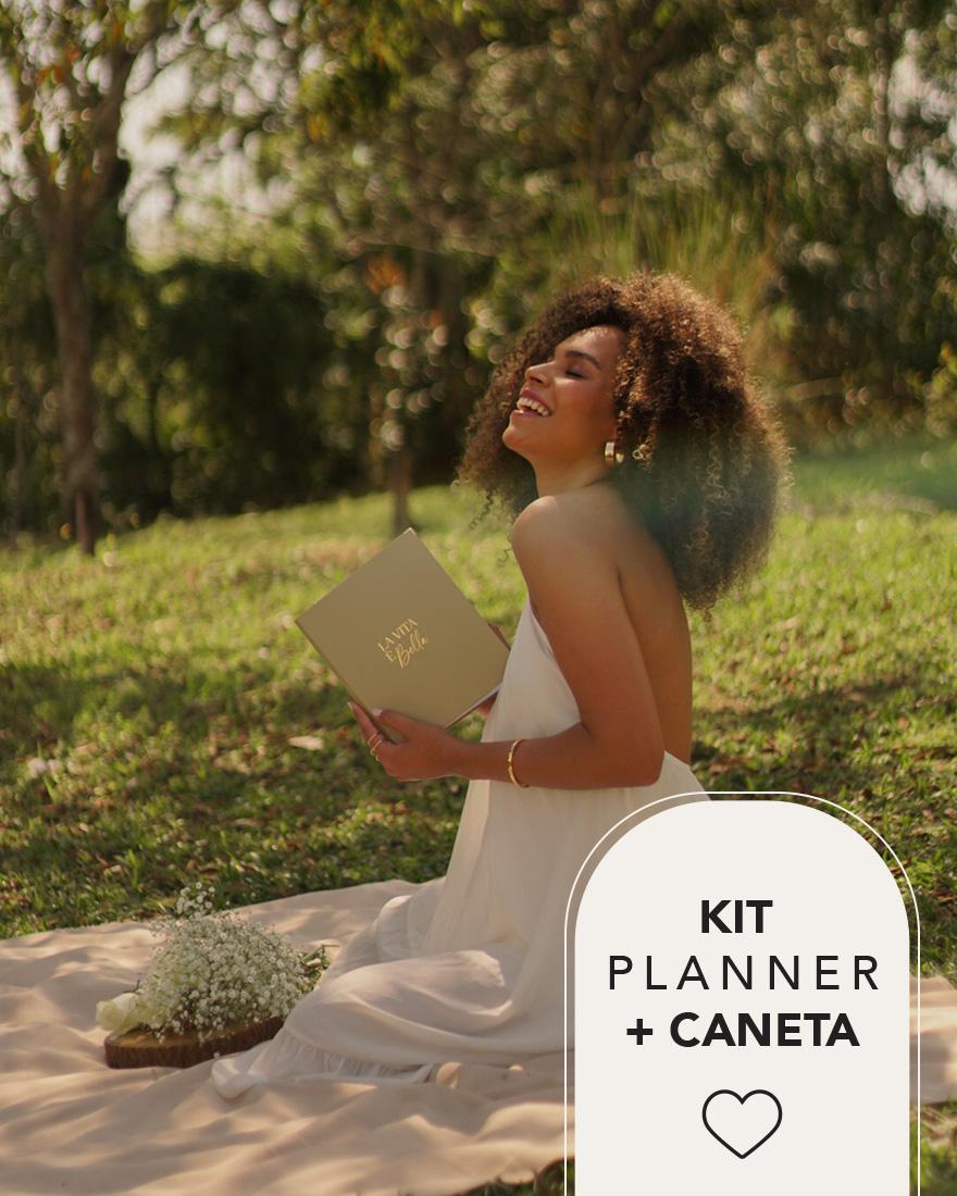 Kit Planner 2022 + Caneta | Pistache