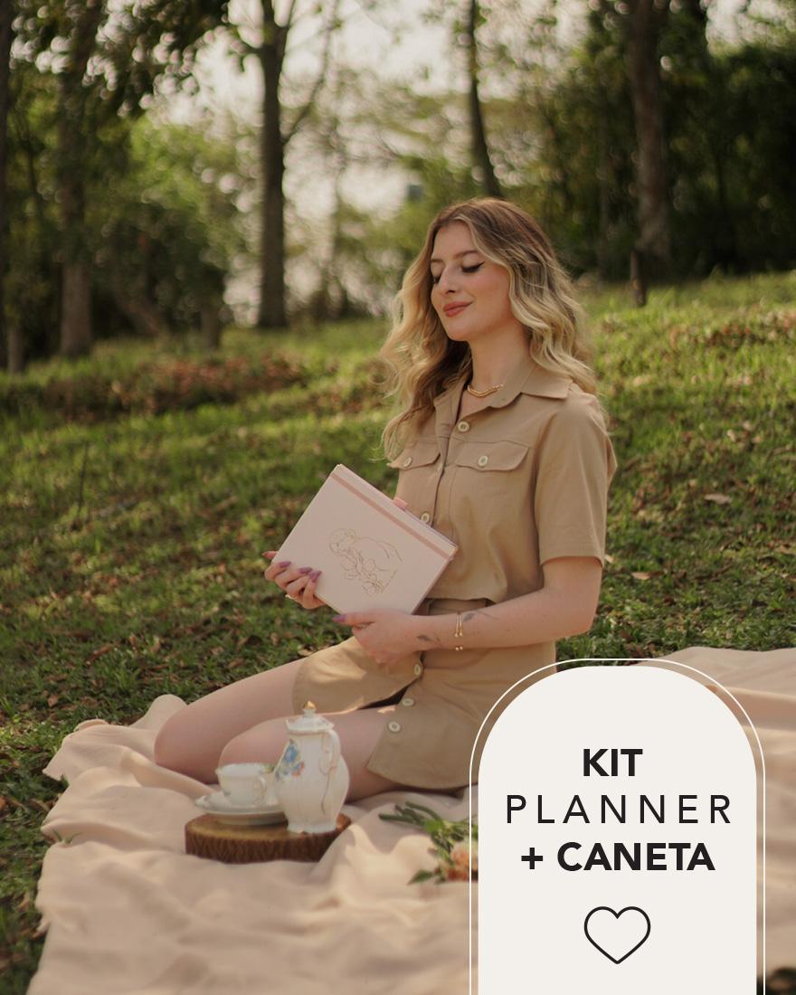 Kit Planner 2022 + Caneta   Rosé