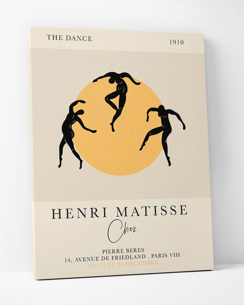 Placa Decorativa A Dança De Matisse