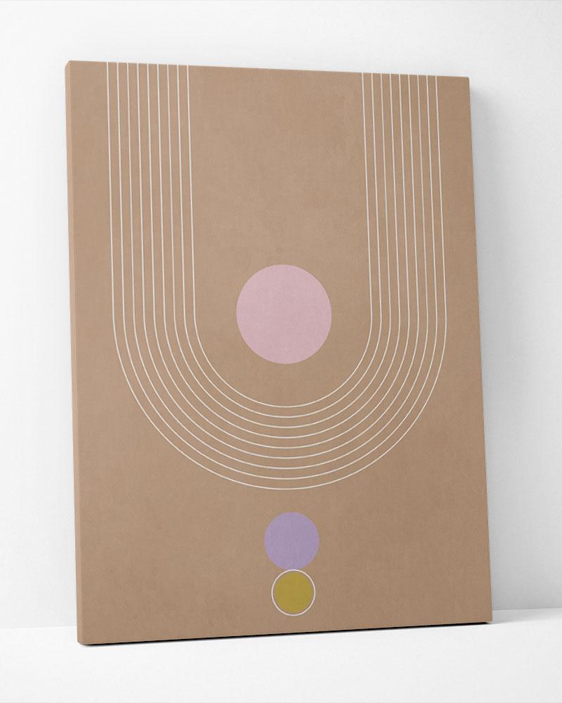 Placa Decorativa Abstrato Mid II