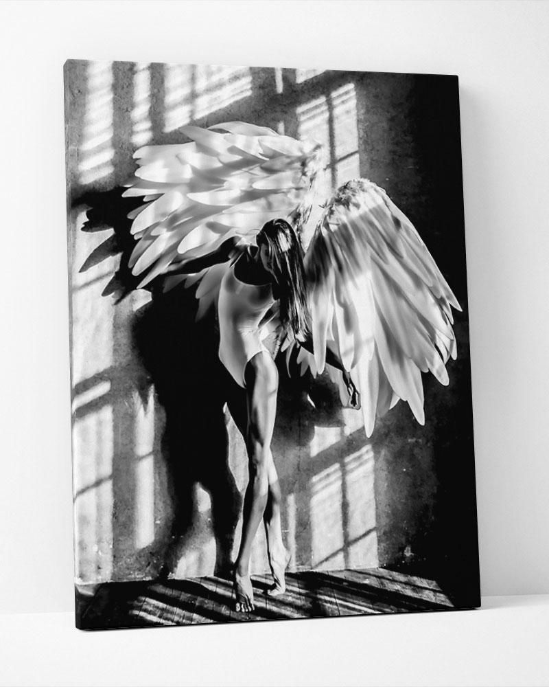 Placa Decorativa Angel Woman I