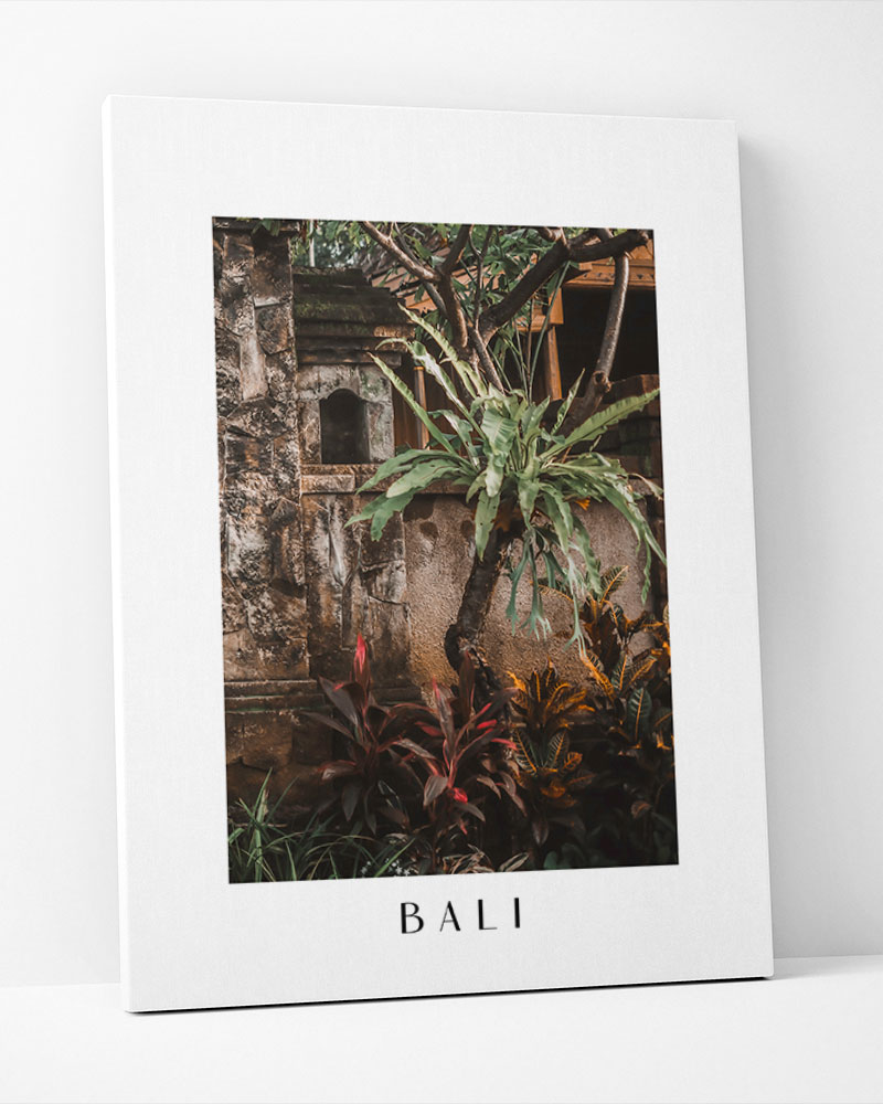Placa Decorativa Bali