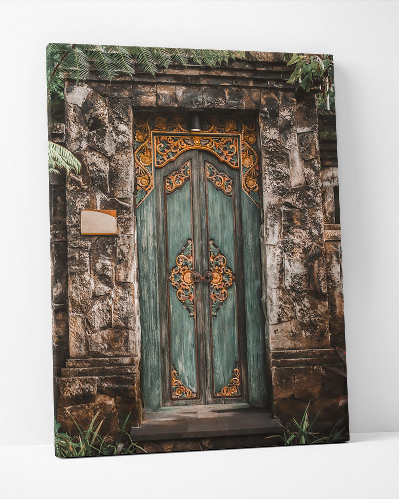 Placa Decorativa Bali Door