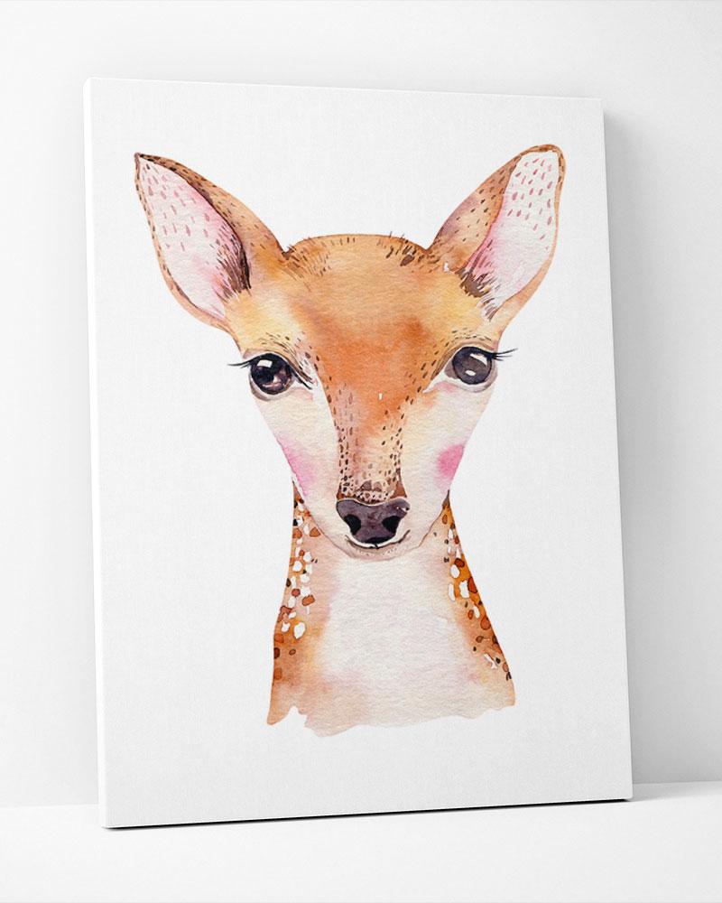 Placa Decorativa Bambi Baby