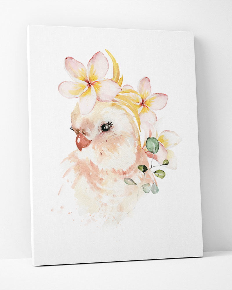 Placa Decorativa Bird Baby Girl