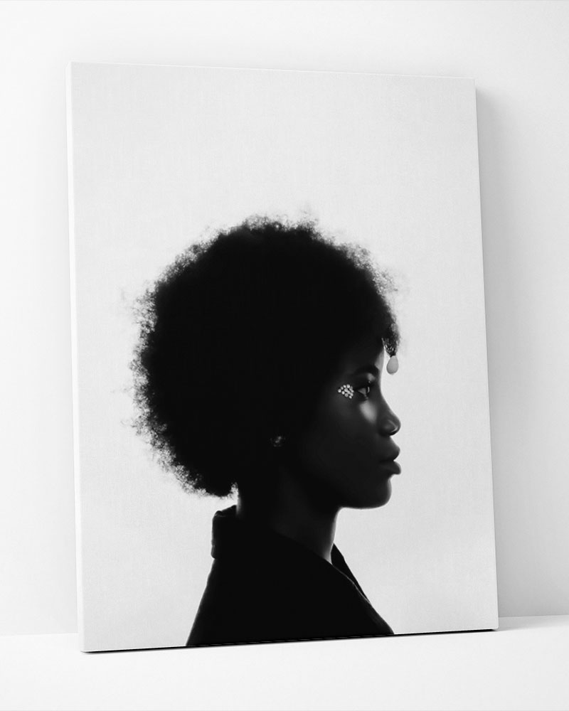 Placa Decorativa Black Power