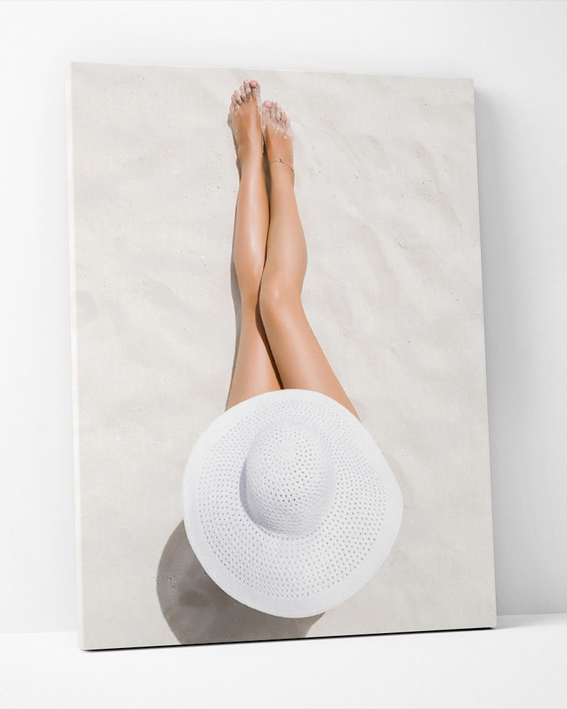 Placa Decorativa  Blanc La Plage