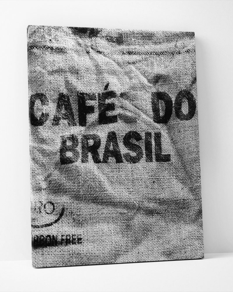 Placa Decorativa Café Do Brasil