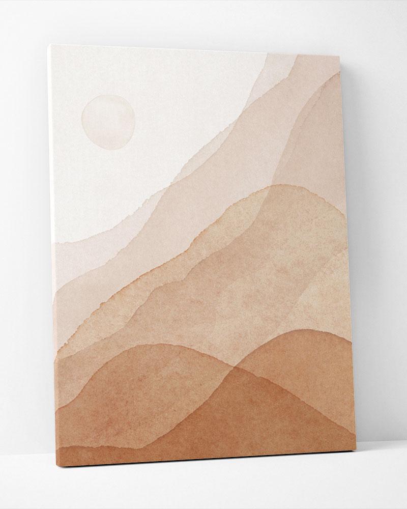 Placa Decorativa Deserto
