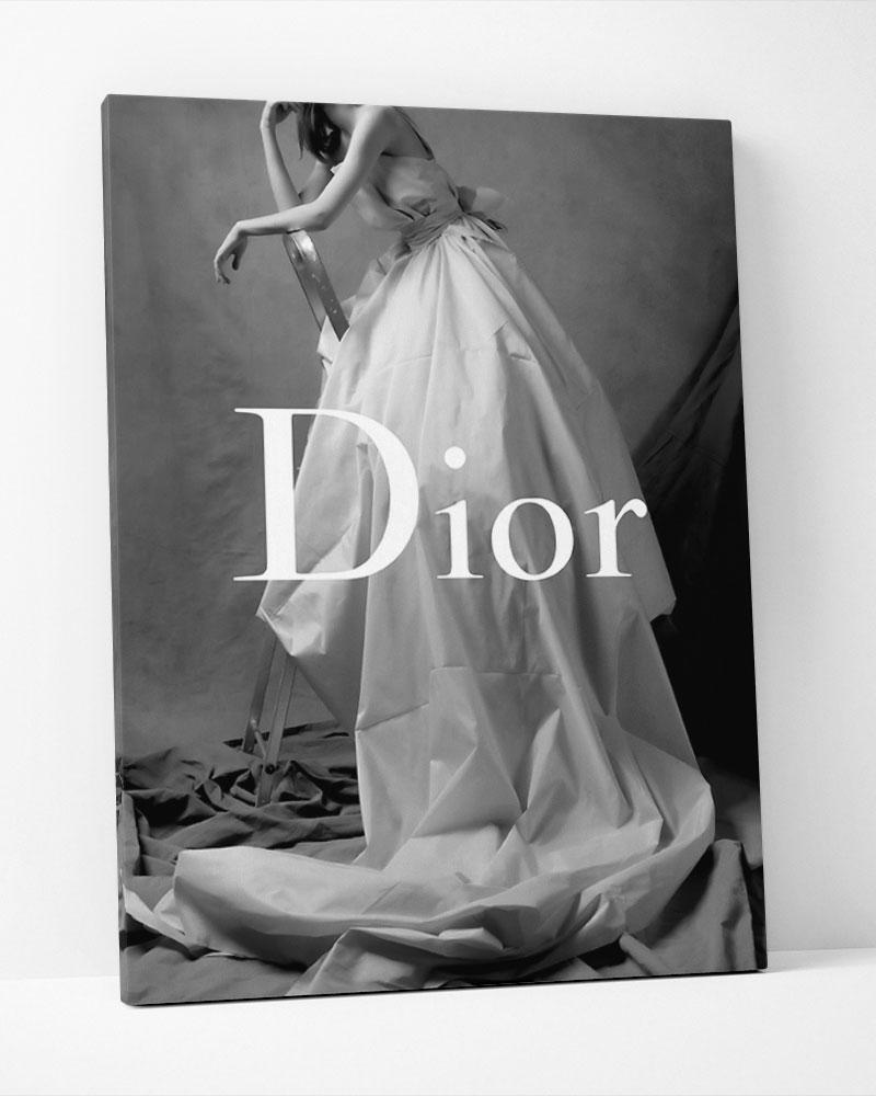 Placa Decorativa Dior Model