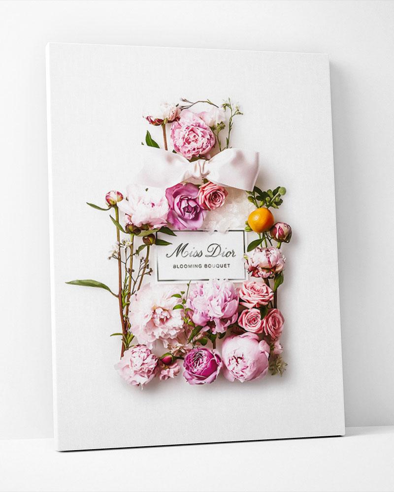 Placa Decorativa Dior Parfum