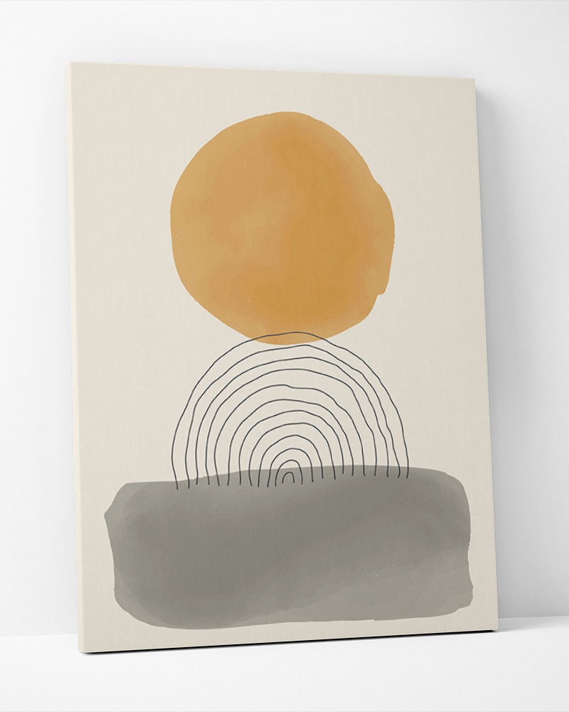 Placa Decorativa Equilibrio Natural IV