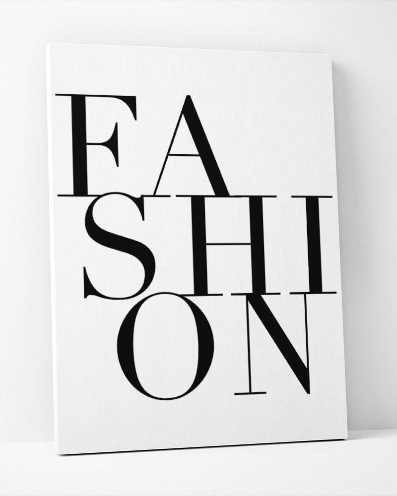 Placa Decorativa Fashhion