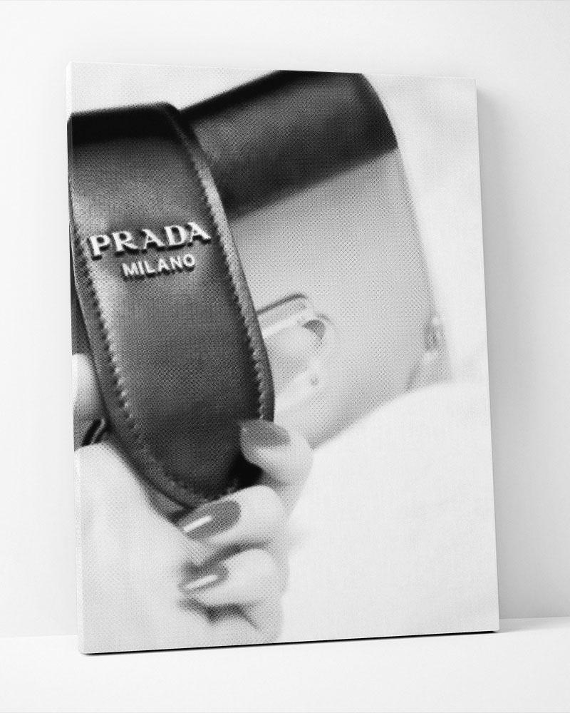 Placa Decorativa Fashion Bag