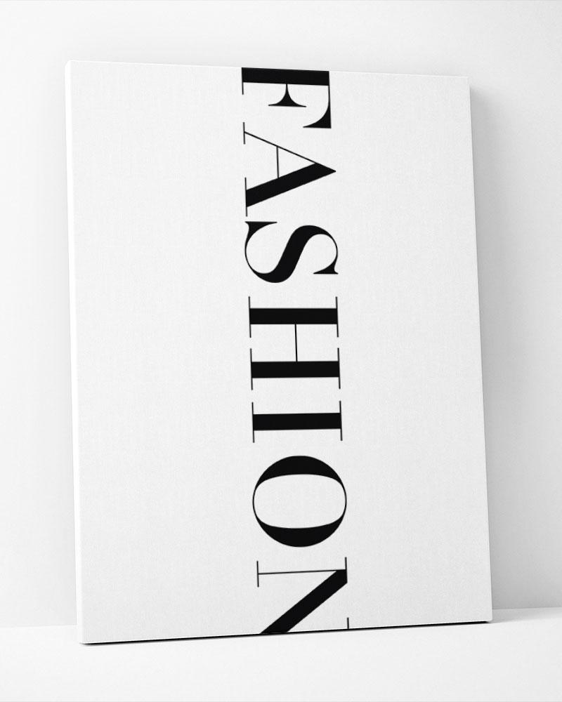 Placa Decorativa Fashion Vertical