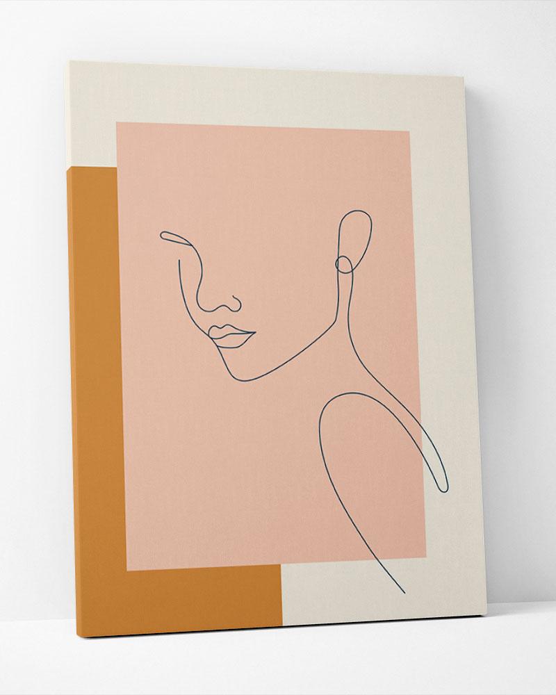 Placa Decorativa Feminilidade II