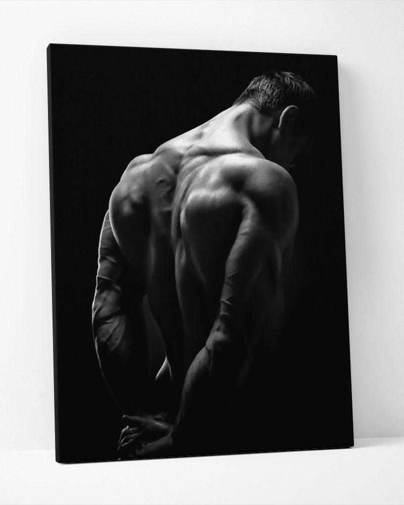 Placa Decorativa Fitness Men