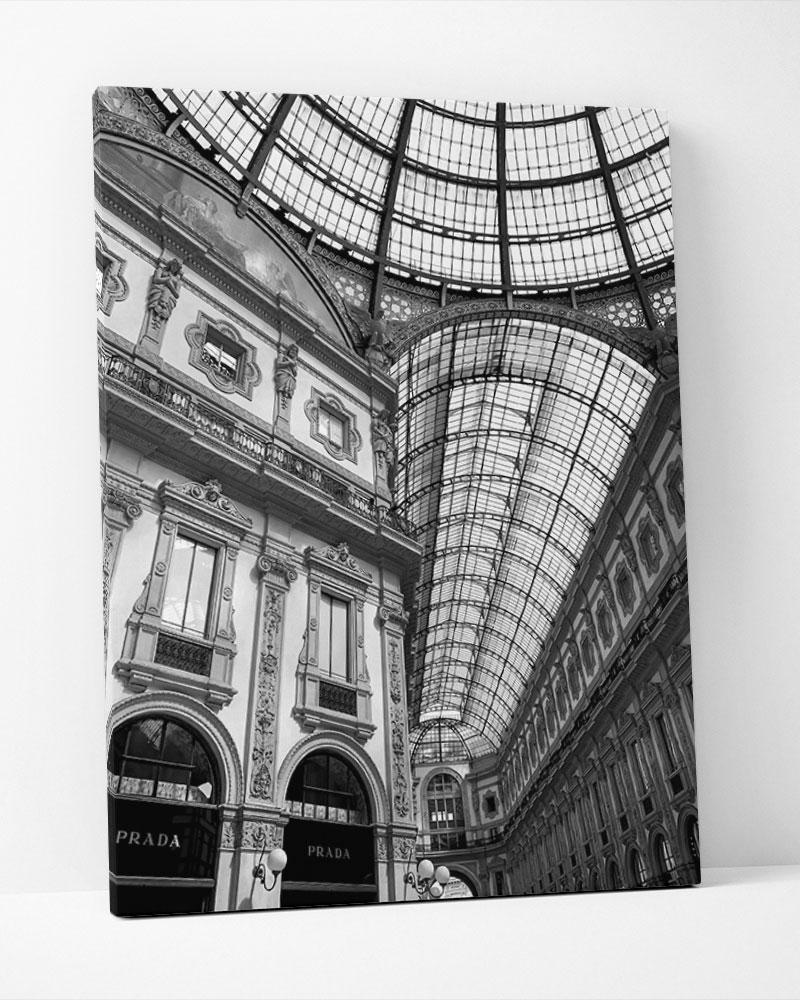 Placa Decorativa Galeria De Moda II