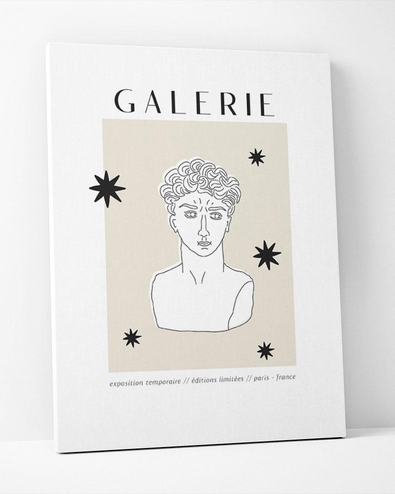 Placa Decorativa Galerie I