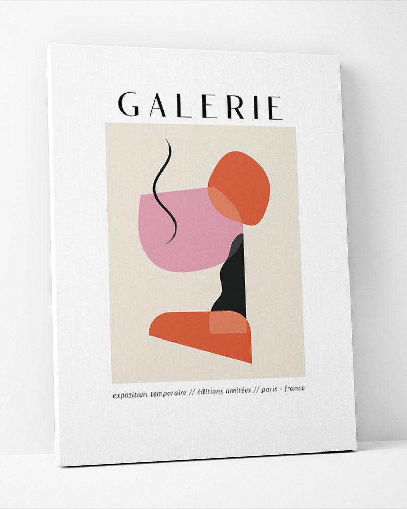 Placa Decorativa Galerie II