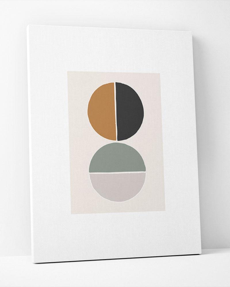 Placa Decorativa Geometria Contemporânea I