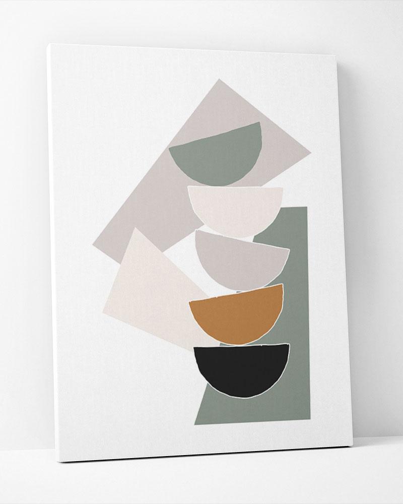Placa Decorativa Geometria Contemporânea II