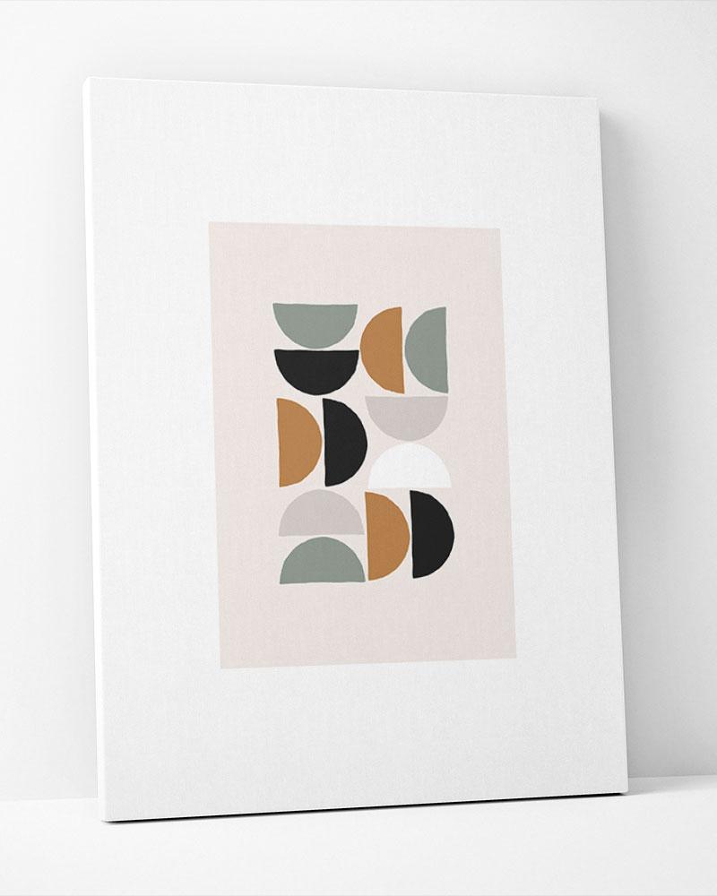 Placa Decorativa Geometria Contemporânea III
