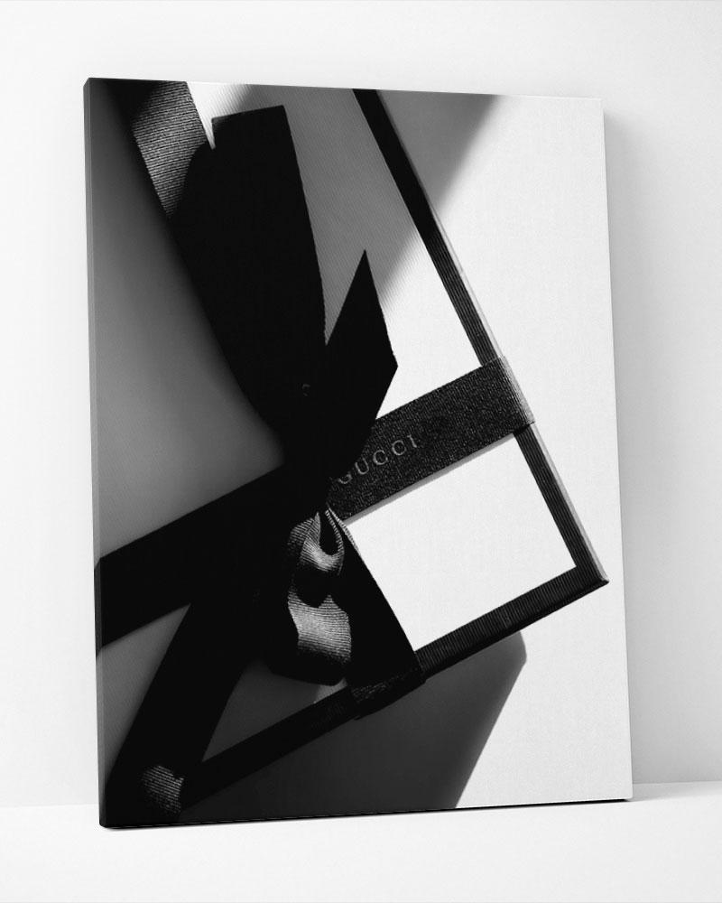 Placa Decorativa Gucci Box