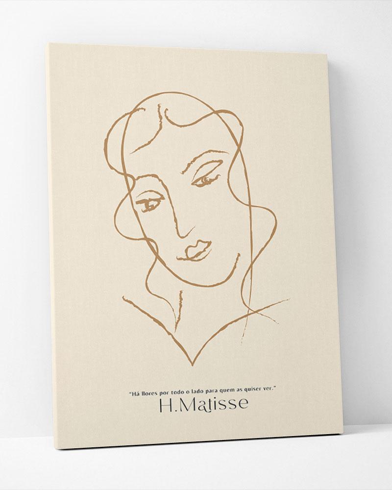 Placa Decorativa H.Matisse