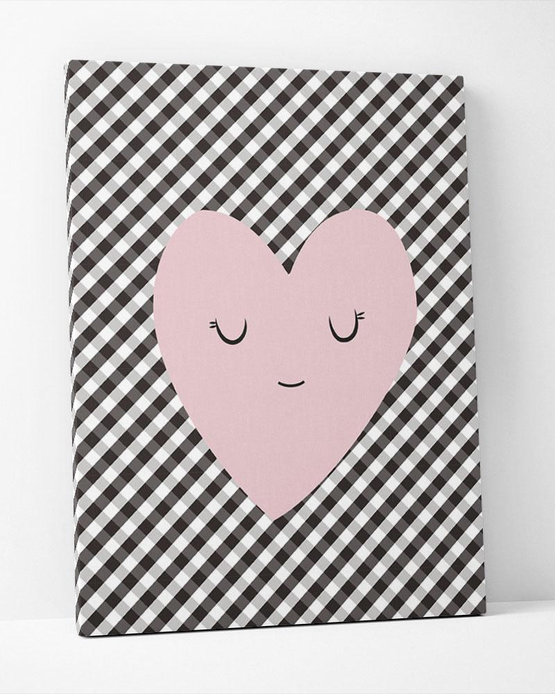 Placa Decorativa Heart Baby