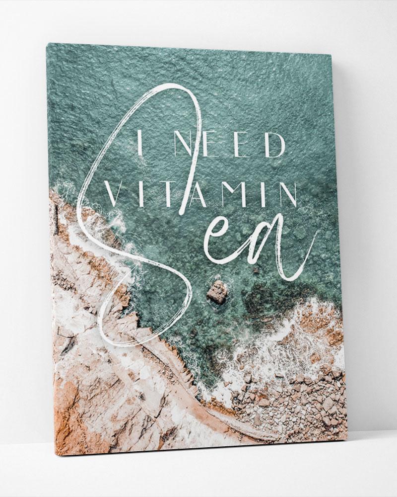 Placa Decorativa Ineed Vitamin Sea