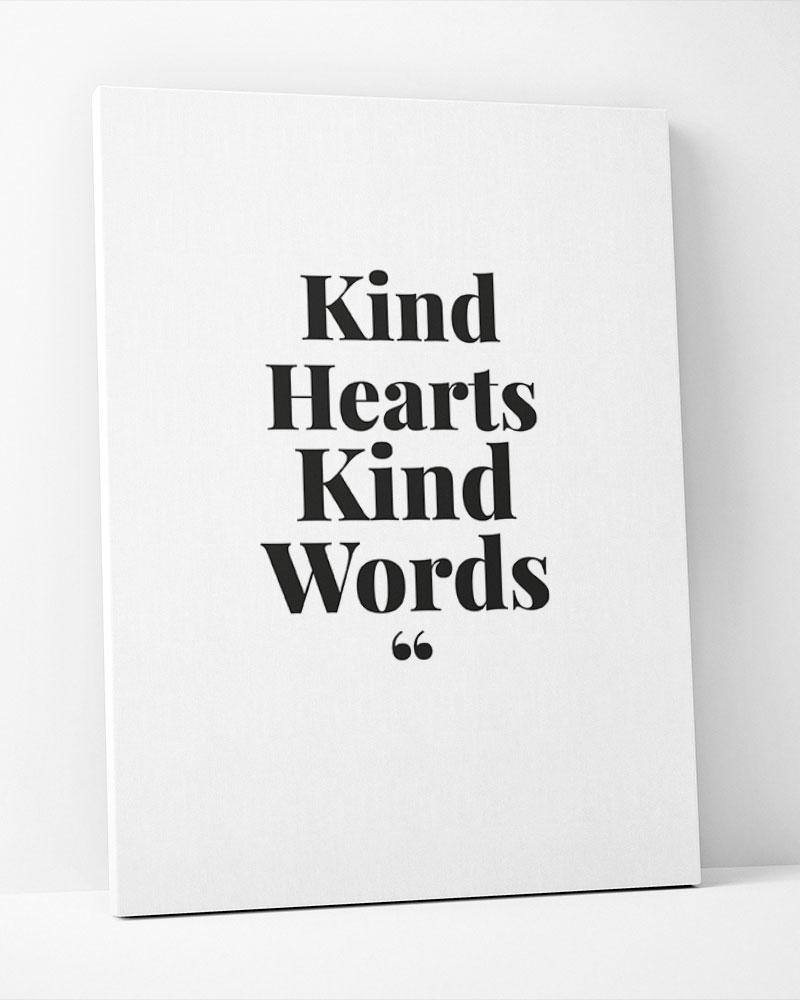 Placa Decorativa King Hearts King Words