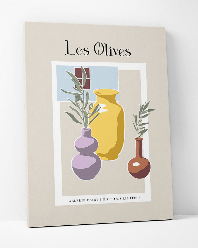 Placa Decorativa Les Olives