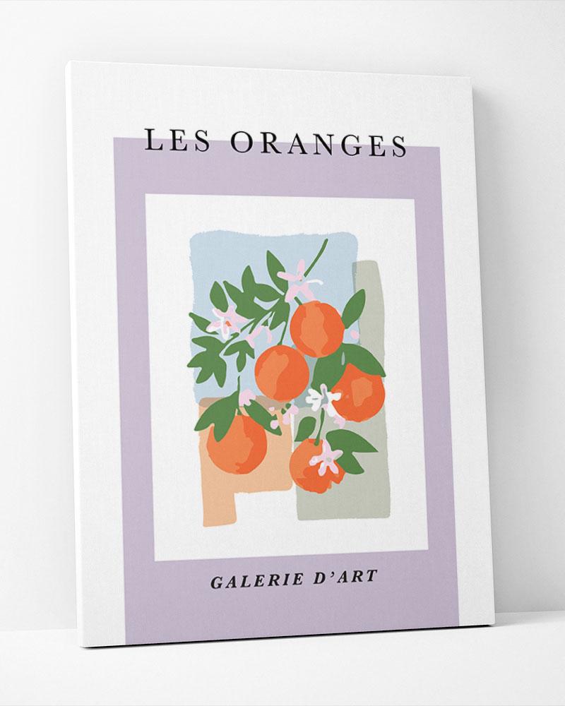 Placa Decorativa Les Orange