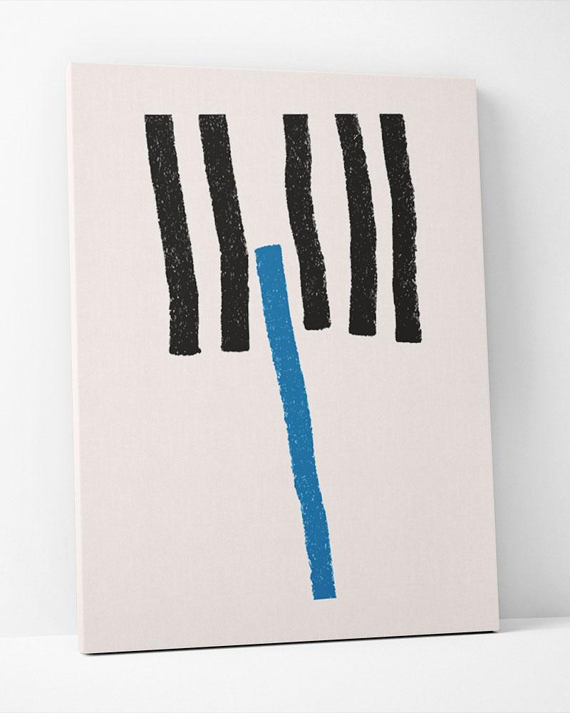 Placa Decorativa Linhas Assimétricas II