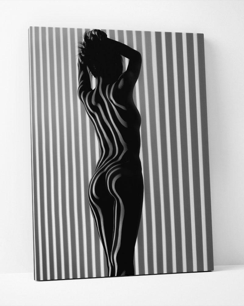 Placa Decorativa Linhas Femininas I