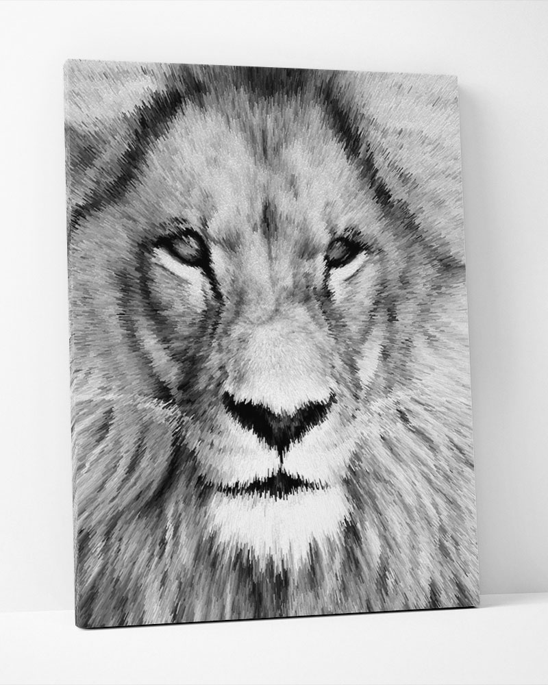 Placa Decorativa Lion