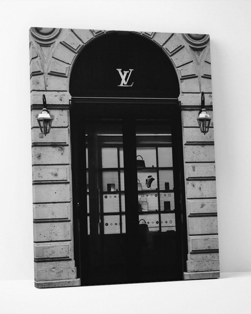 Placa Decorativa Lv Store