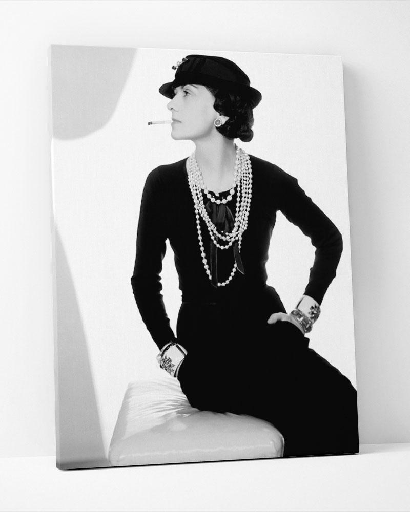 Placa Decorativa Madame Chanel