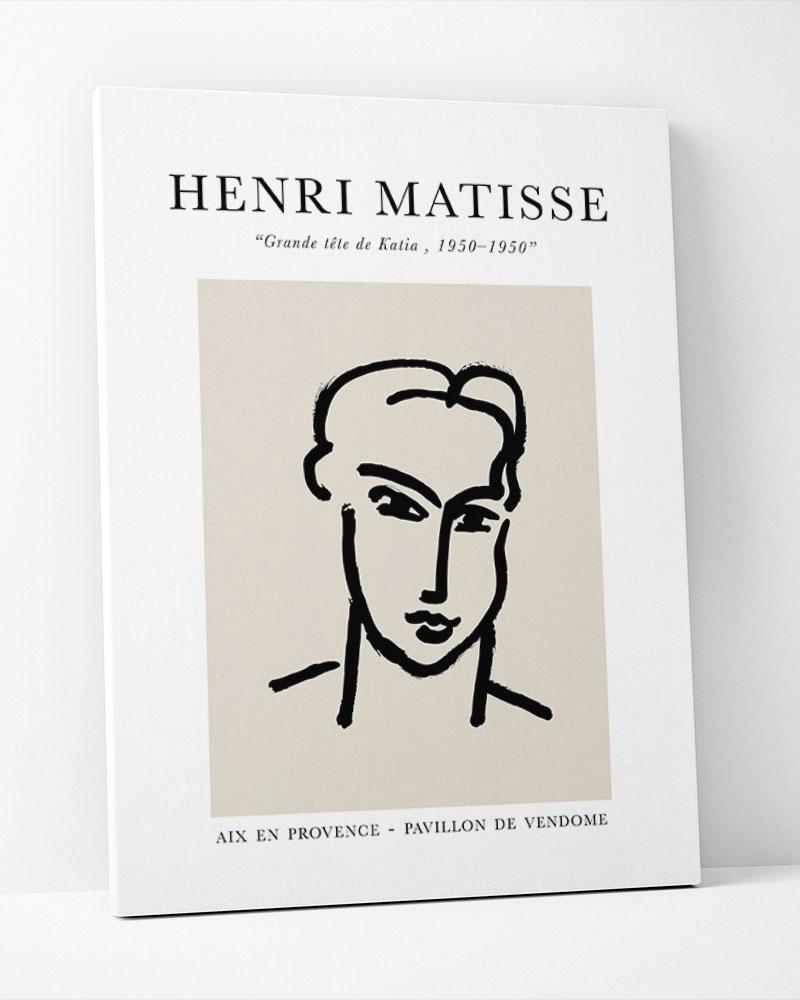 Placa Decorativa Matisse Katia