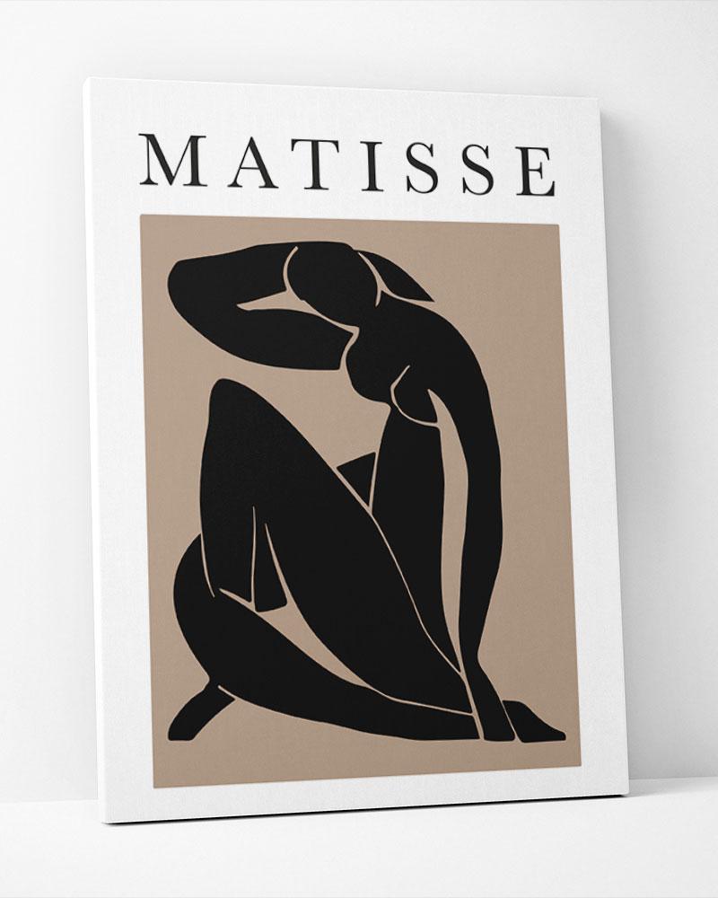 Placa Decorativa Matisse Marrom
