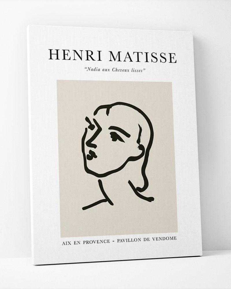 Placa Decorativa Matisse Nadia
