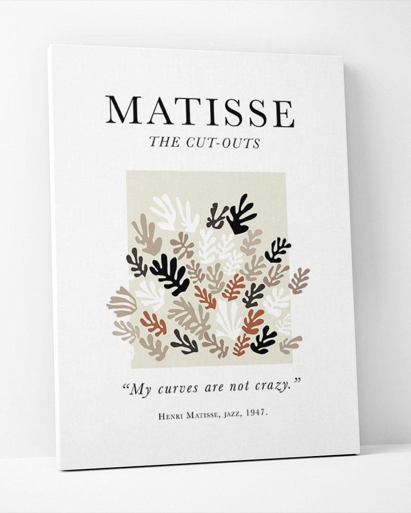 Placa Decorativa Matisse Papier