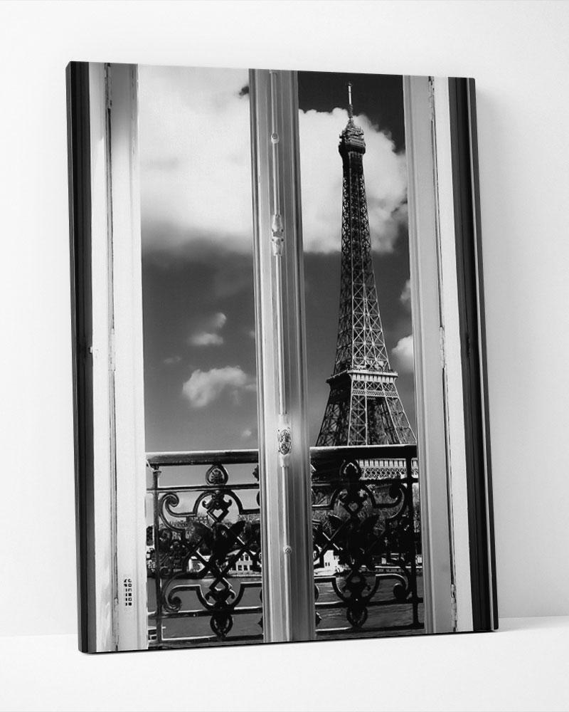 Placa Decorativa Meia Noite Em Paris