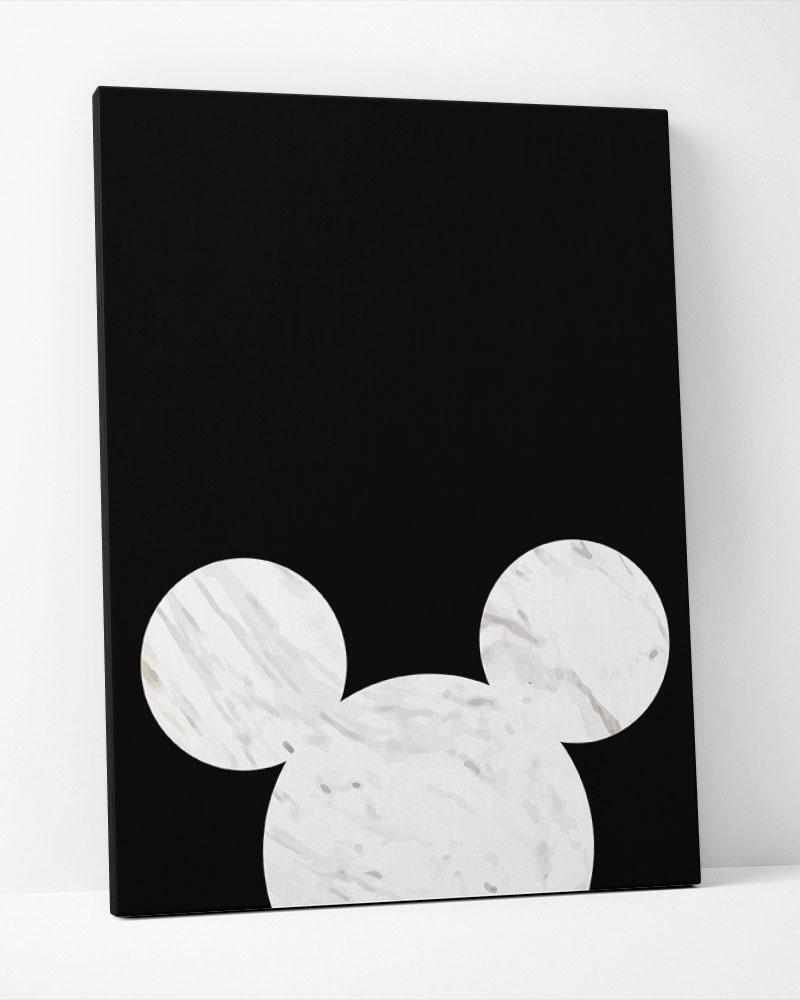 Placa Decorativa Mickey Minimalist